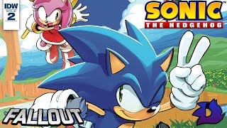 Sonic the Hedgehog (IDW) - Issue #2 Dub