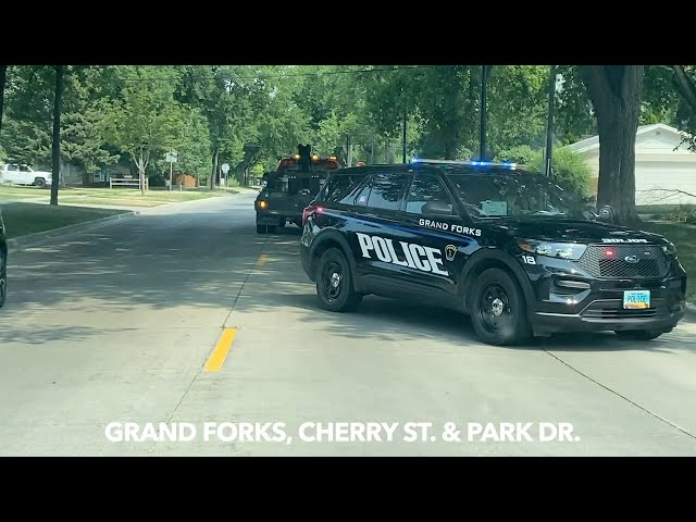 Report Of Elderly Driver Crashing Into Parked Car In Grand Forks