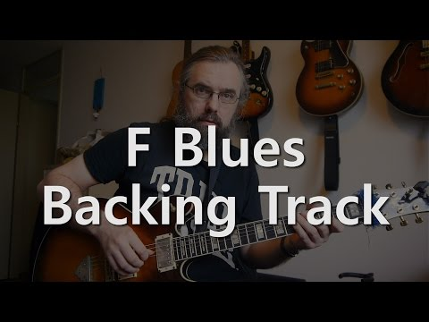 F Jazz Blues - Backing track - Medium Swing 132 BPM