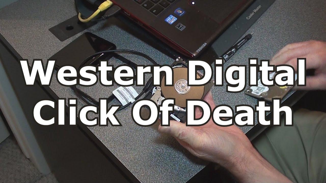 Western Digital Click Of Death - My Passport Hard Drive