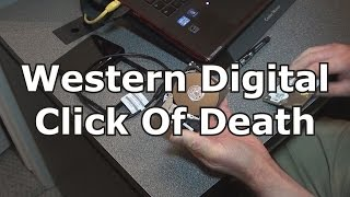 Western Digital Click Of Death - My Passport Hard Drive