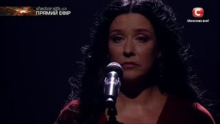Романовская Алена - Я (Лолита  cover) |Первый прямой эфир«Х-фактор-8» (11.11.2017)