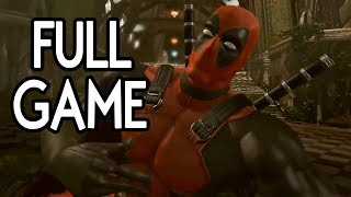 Deadpool - FULL GAME Walkthrough Gameplay No Commentary