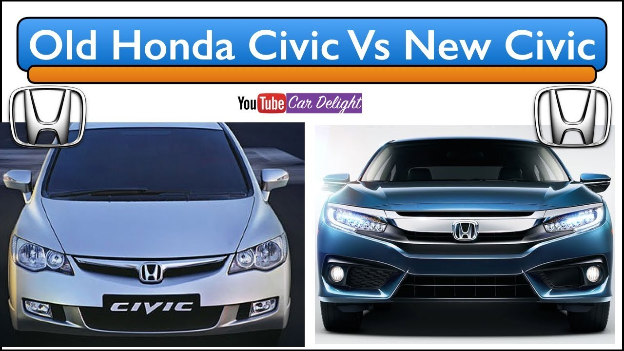 Vs New Honda Civic 2018 Full Comparison