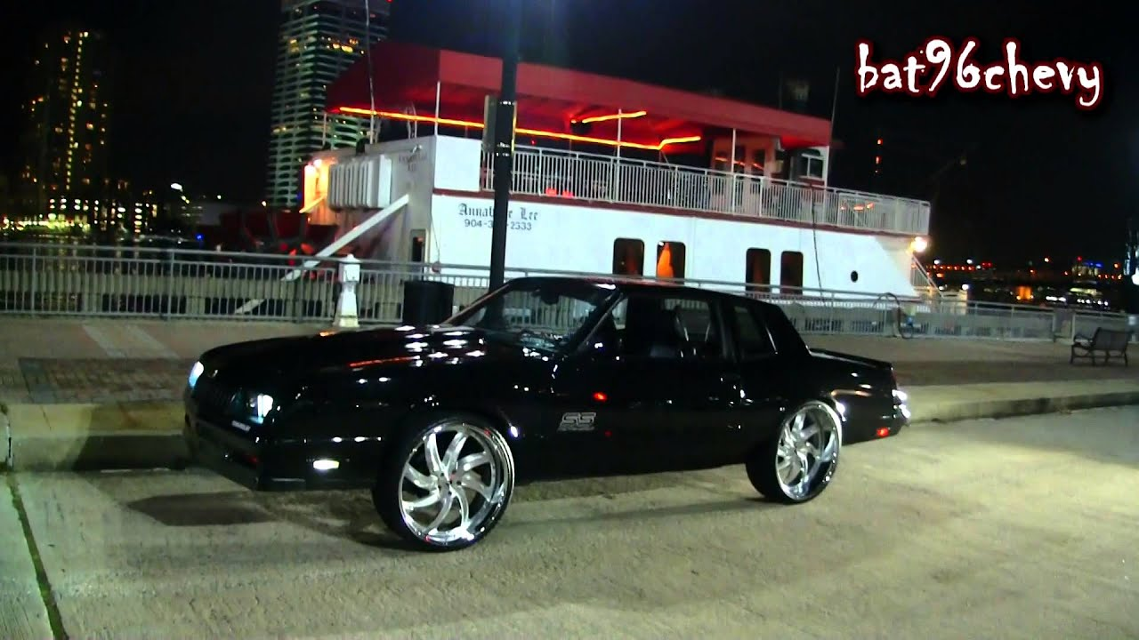 "1987 Black Monte Carlo SS on 24"" Forgiatos; MULTIPLE ..."