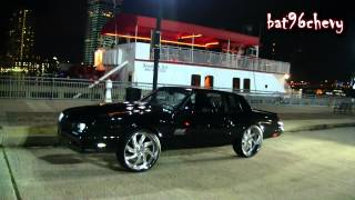 "1987 Black Monte Carlo SS on 24"" Forgiatos; MULTIPLE SCENES & HIGHWAY FOOTAGE - 1080p HD"