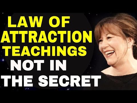 Most Powerful LAW OF ATTRACTION Teachings NOT In The Secret Movie | ABRAHAM HICKS & ESTHER HICKS