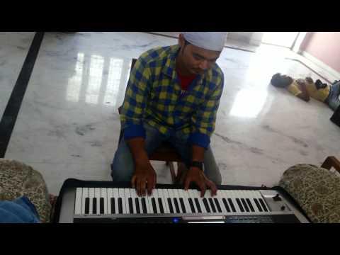 Dairy Milk Silk's Kiss Me Song On Keyboard...