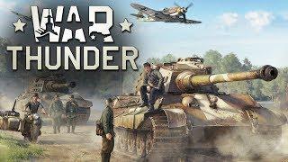 War Thunder играем с подписчиками