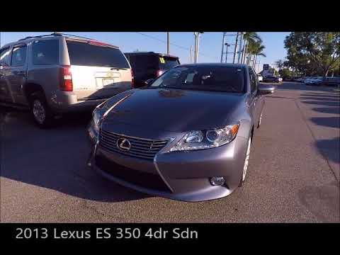 Used 2013 Lexus ES 350 4dr Sdn Near Fort Myers And Cape Coral