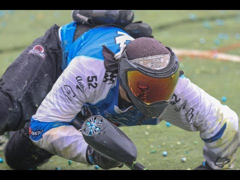 Professional Paintball Raw Footage! X-factor vs Infamous on Las Vegas NXL 2018 layout