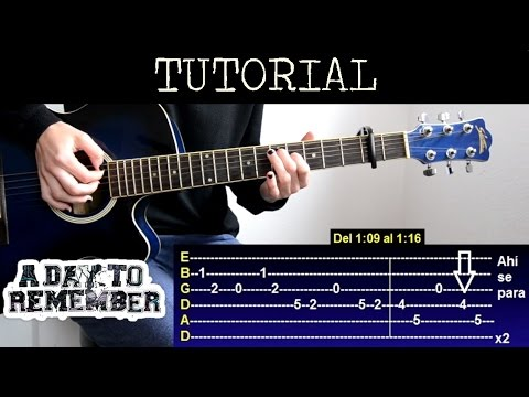 A Day To Remember Chords