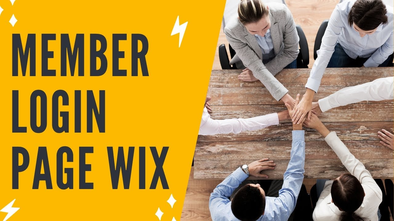 ADDING A MEMBER LOGIN AND PAGE RESTRICTIONS IN WIX
