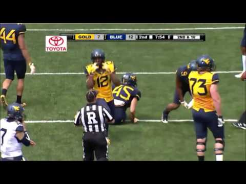 Will Grier WVU Spring Game
