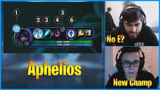 Yassuo and TF Blade React to New Champion Aphelios | LoL Daily Moments Ep 736