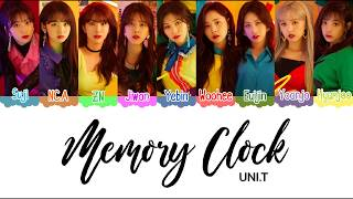 [3.66 MB] UNI.T (유니티) Memory Clock Color Coded Lyrics [HAN|ROM|ENG]