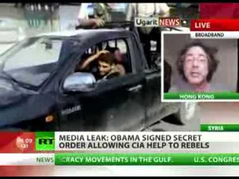 CIA training FSA Al Qaeda Terrorists to destabilize Syria - U.S Funding AL QAEDA?