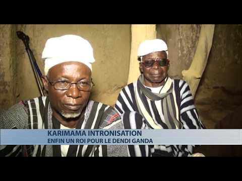 Culture : intronisation du roi de Dendi Ganda (Karimama)