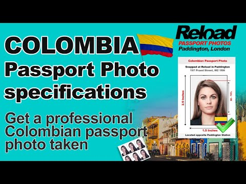 Get Your Colombian Passport Photo Or Visa Photo Instantly In Paddington, London