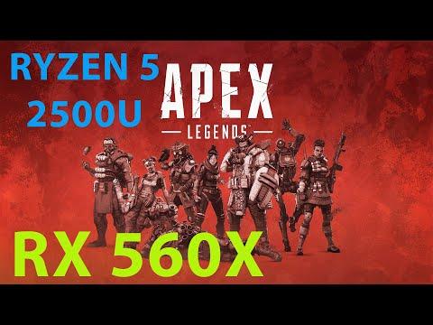 Apex Legends Gameplay + Best Settings (60FPS) | Ryzen 5 | RX 560X 4GB