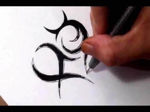 Zodiac Signs Inside A Heart Sketch Tribal Pisces And Taurus