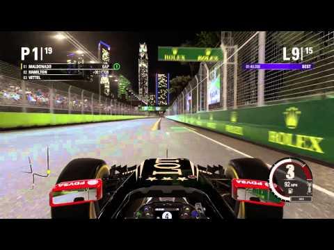 F1 2015 - Championship Season - Round 13 - Singapore GP - Marine Bay street circuit