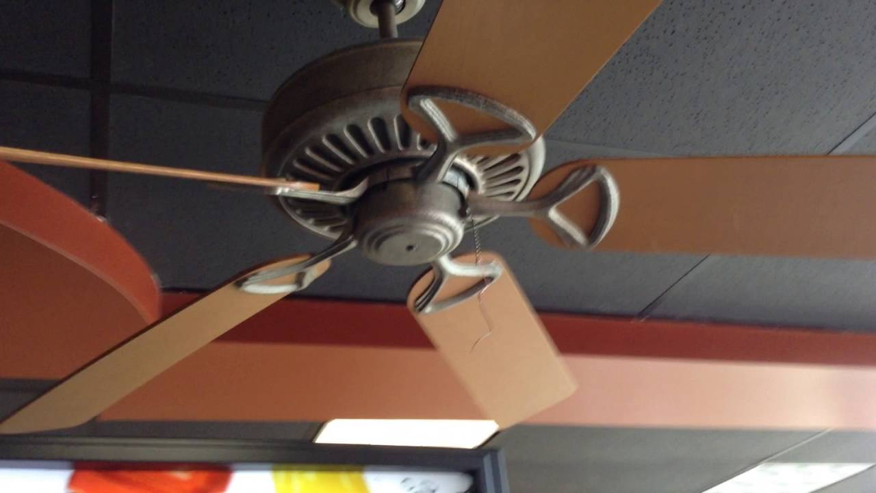 52 Regency MX Excel Ceiling fans at Subway Feat BrianFanofFans17  YouTube
