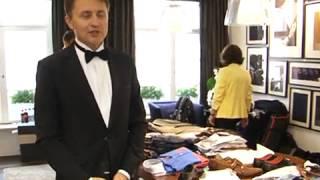 Репортаж о шоппинге в Мюнхене. Покупка смокинга для Андрея.