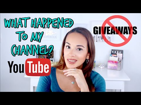 WHAT HAPPENED TO MY YOUTUBE CHANNEL | Low Views | GIVEAWAY FAIL | Losing Subscribers | Blush Diaries