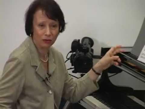 Edna Golandsky The Art of Rhythmic Expression a lecture series by Edna Golandsky
