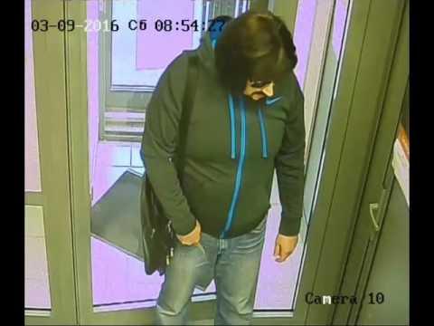 видео: Вооруженное ограбление банка в Казани