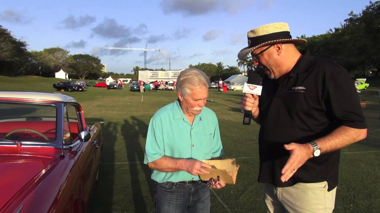 Car Show Television Interview With Wayne Carini From Chasing Classic Cars