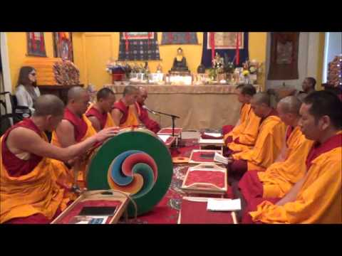 Medicine Buddha Puja with the Drepung Loseling Monks June 6, 2015 MP4