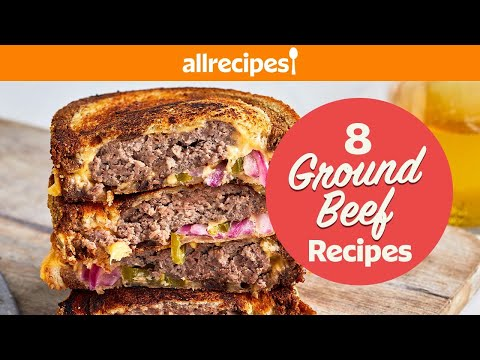 8 Inexpensive Ground Beef Recipes To Amp Up Any Dinner   Enchiladas, Patty Melts, Burgers, & more!