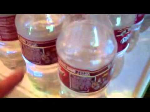 Survival Tip - Water storage using recycle 2 liter coke bottles - prepping series