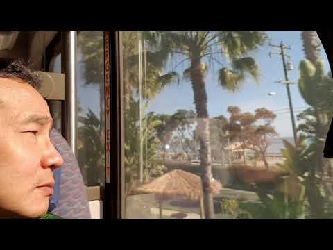 Trip to San Diego with Amtrak (beautiful beach)