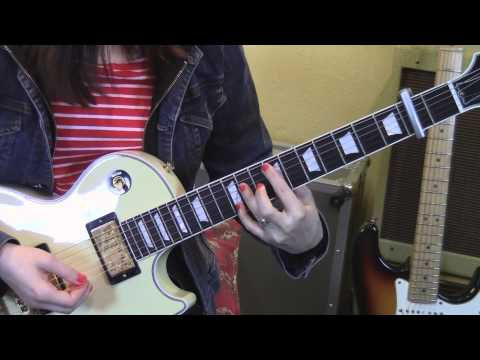 The Smiths-What Difference Does It Make?-Guitar Lesson-Allison Bennett