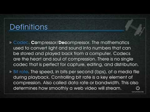Learn The Basics of Video Compression