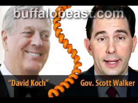 Koch Whore: Wisconsin Gov. Scott Walker, part 2