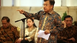 VIDEO Terbaru -  JK Minta Golkar Selesaikan Ribut Kursi Ketua DPR Dalam Sepekan   (23 DES 15)