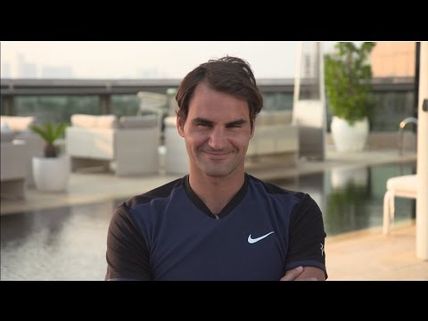 Serve and Volley with Roger Federer