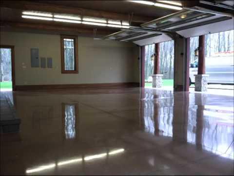 Polished Garage Floors San Francisco