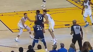 Stephen Curry And Derrick Rose Ballin For Their Own Team! Warriors vs Timberwolves