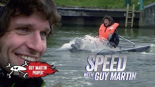 Guy's maiden voyage on his hydrofoil boat | Guy Martin Proper