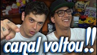 A VOLTA DO CANAL VOCÊ SABIA PLUS!!!!