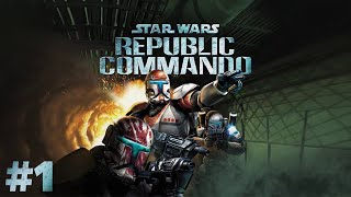 🌌 Delta csapat készen! 🌌 | Star Wars: Republic Commando (PC,2005) #1 - 04.09.
