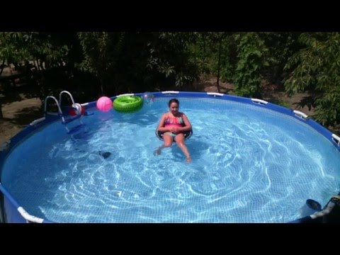 piscina intex con filtro casero de arena chile youtube