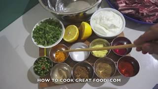 Indian Grilled Lamb Chop Tikka Recipe Bbq Masala