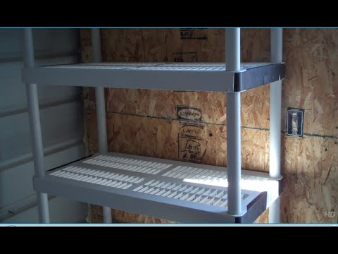home depot hdx 5 shelf storage unit youtube. Black Bedroom Furniture Sets. Home Design Ideas