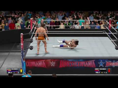 WWE 2K17: Kevin Von Erich vs. Kerry Von Erich